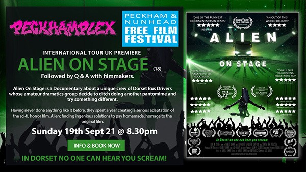International Tour UK Premiere Alien on Stage followed by Q & A
