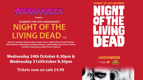 Celebrate the 50th Anniversary:  Night of the Living Dead