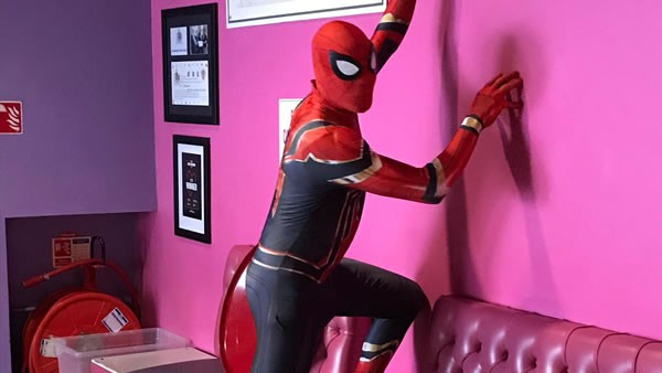 Look who swung into Peckhamplex this weekend!