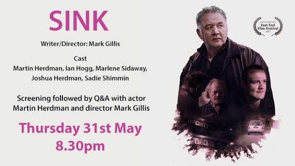Sink screening followed by Q&A with Director, Mark Gillis