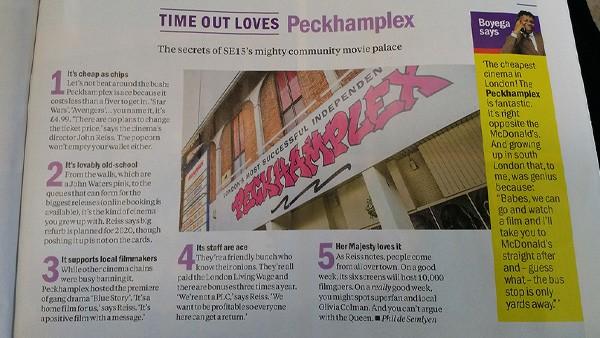 Time Out Loves Peckhamplex